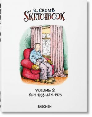 Robert Crumb: Sketchbook,  Vol. 2, Sept.1968 - Jan. 1975