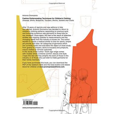 Fashion Patternmaking Techniques for Children's Clothing: Dresses, Shirts, Bodysuits, Trousers
