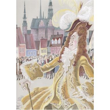 Новое платье короля (иллюстрации Ники Гольц)