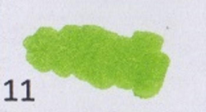 Маркер-кисть, акварельные чернила на водной основе Lt.Green MAR1100/11