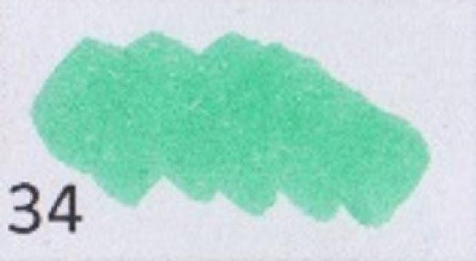 Маркер-кисть, акварельные чернила на водной основе Pale Green MAR1100/34