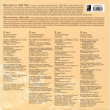 Masterpieces 1800-1900 + 4 CD