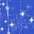 Маркер Marvy DecoFabric Glitter Blue
