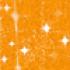 Маркер Marvy DecoFabric Glitter Orange
