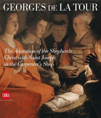 Georges de La Tour. The Adoration of the Shepherds Christ with St. Joseph in the Carpenter's Shop
