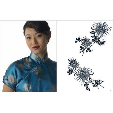 Pepin. Fashion, textiles & patterns №1 Cheongsam