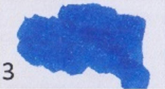 Маркер-кисть, акварельные чернила на водной основе Blue MAR1100/3